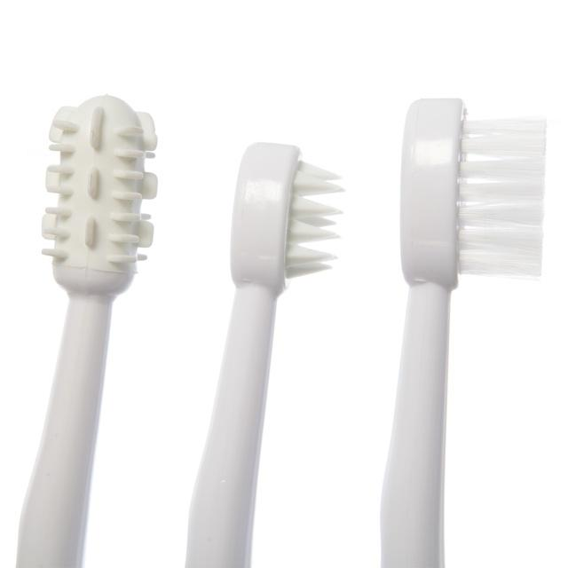 Dreambaby DB00325 (30) Toothbrush Set 3 Stage - White