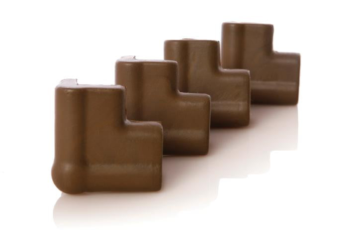 Dreambaby DB00813 (30) Foam Corner Bumpers 4pk - Brown