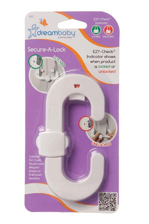 Dreambaby DB00823 (30) Ezy Check Secure-A-Lock
