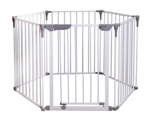 Dreambaby DB00849 (10) Gate Royale Converta Playpen - White