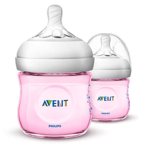 Philips Avent PP Natural Bottle (Twin Pack) - 125ml