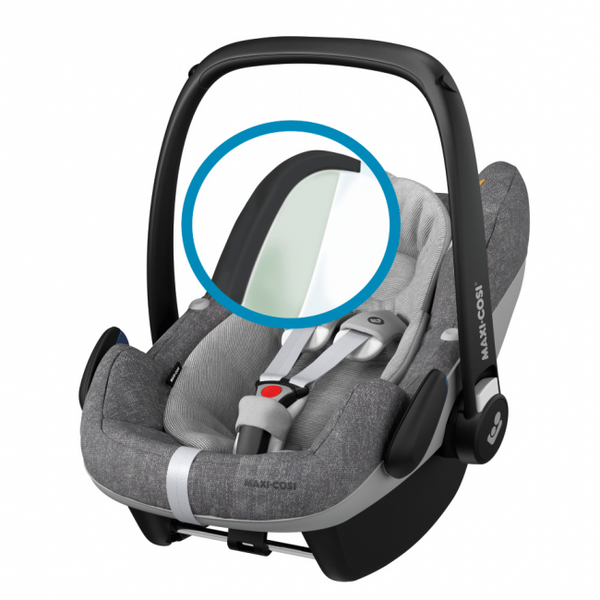 Maxi-Cosi Pebble Pro i-Size Baby Car Seat - Nomad Grey 2021 model (0m-12m) (45-75cm) MC8799712110 - Picket&Rail