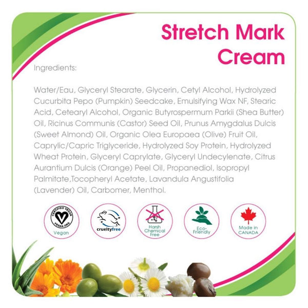 Aleva Naturals Stretch Mark Cream (3.4 fl.oz / 100ml)