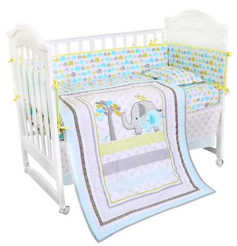 Bonbijou 10-Piece 100% Cotton Bedding Set