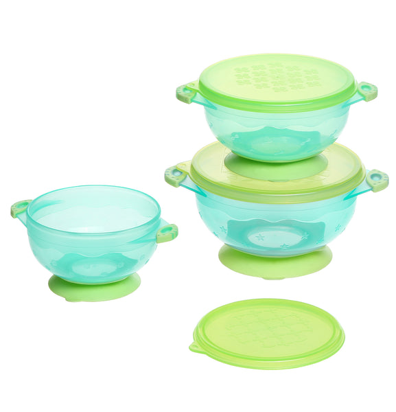 Suction Bowl 3PK - Bonbijou