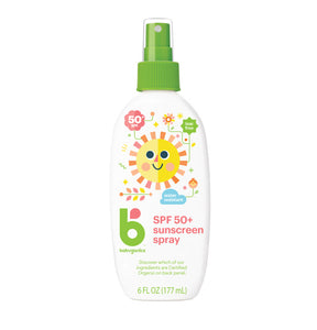 Babyganics Sunscreen Spray, 177ml, SPF 50