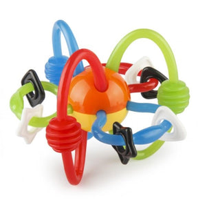 B Kids Rattle & Teether Bendy Tubes