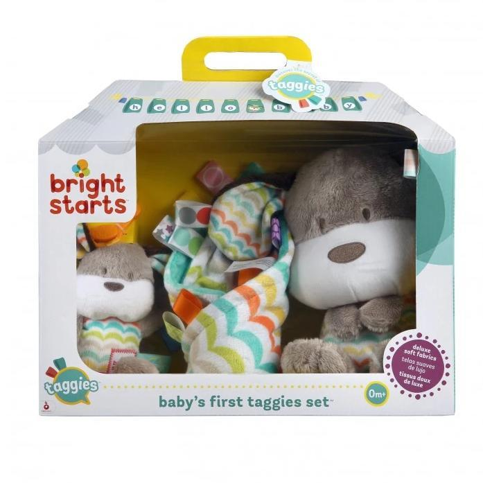 Bright Starts BS11259 (30/45) Baby's First Taggies Set