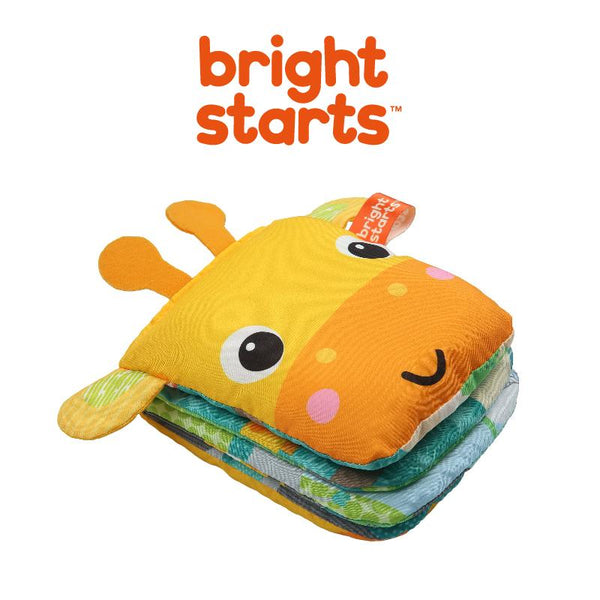 Bright Starts Book Playful Storytime Giraffe Soft Puppet BS12091 - Picket&Rail