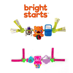 Bright Starts Take Along Carrier Toy Bar Assortment BS11185 - Picket&Rail