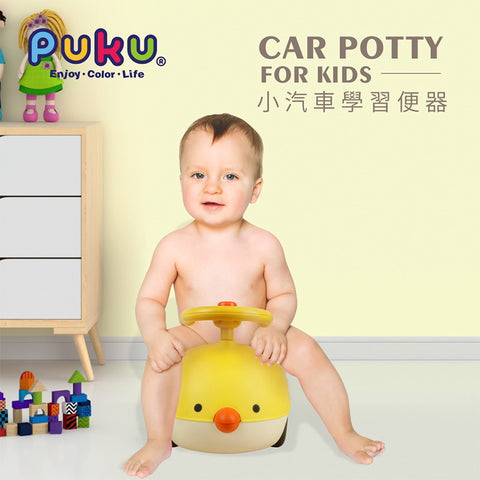 Puku My Little Car Training Potty (Yellow)
