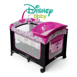 Disney Playard Bassinet Cot Minnie Mouse Garden Delights Playard BS60543 - Picket&Rail