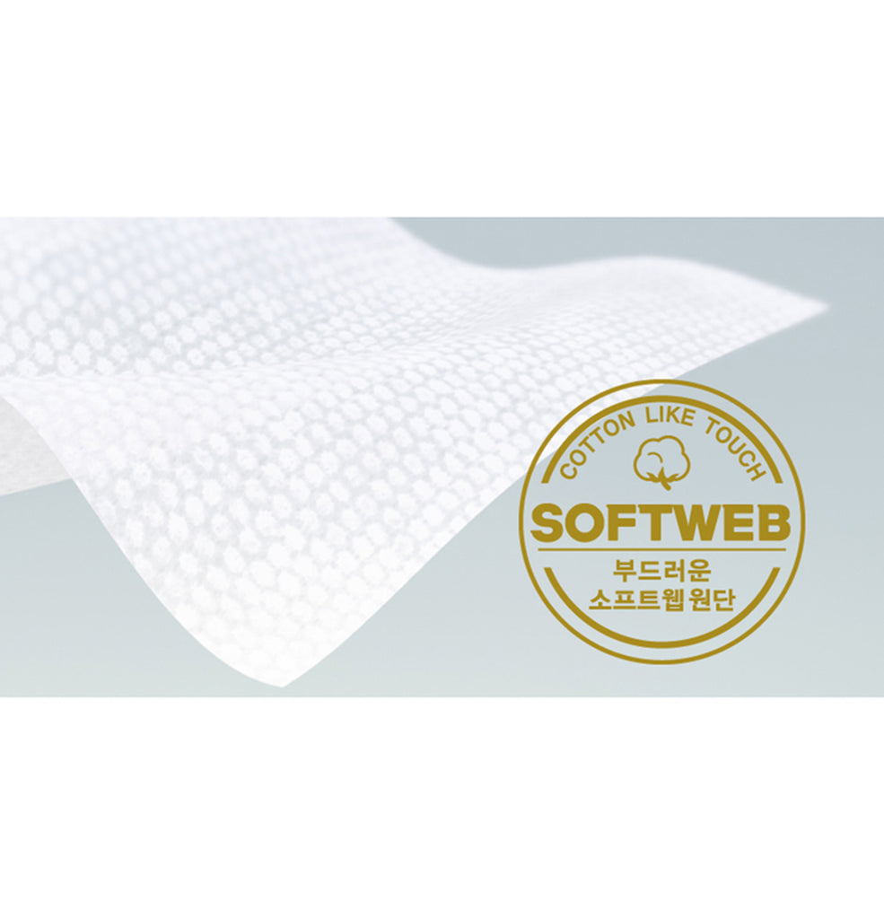 Dori Dori Embossing with Cap Wet Wipes (100 sheets) - Dori Dori