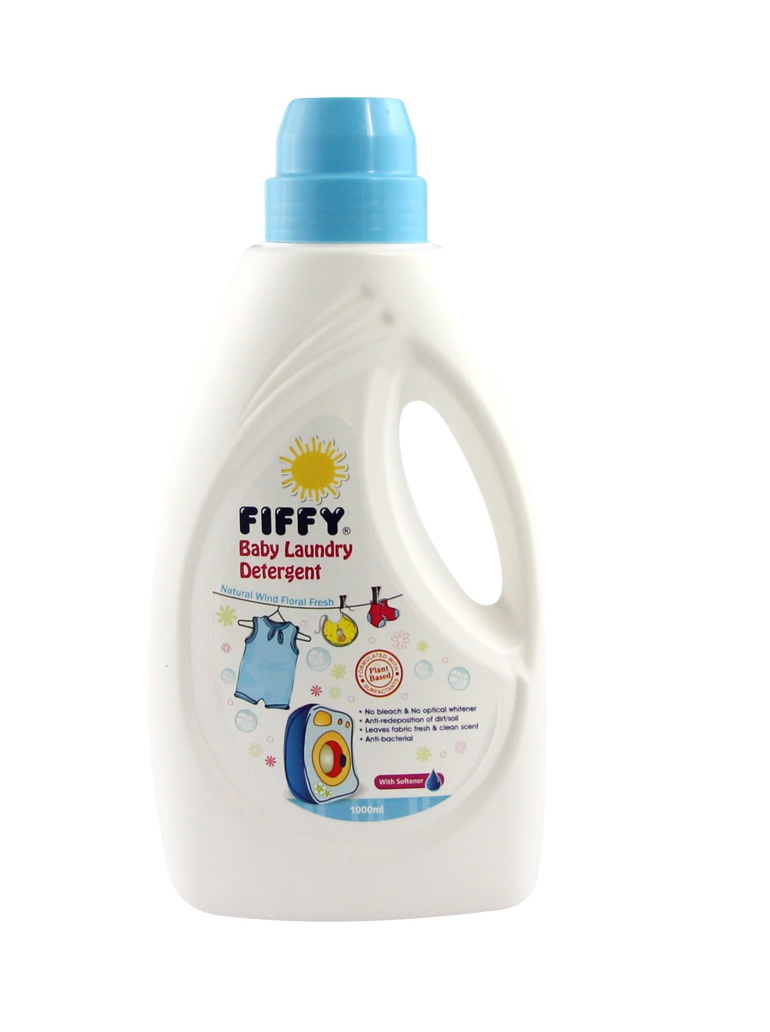 FIFFY Baby Laundry Detergent with Softener 1000ml / Refill 800ml