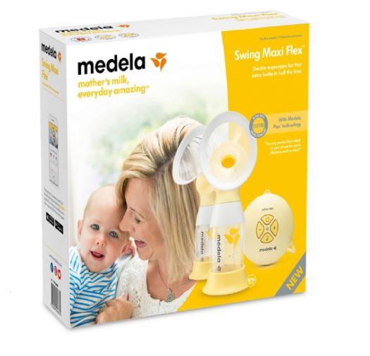 Medela Swing Maxi Flex Breast Pump (Local Set, 1-Year Warranty)