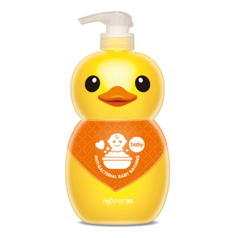 Against24 Rubber Duck Antibacterial Baby Bathing Wash (1000ml)