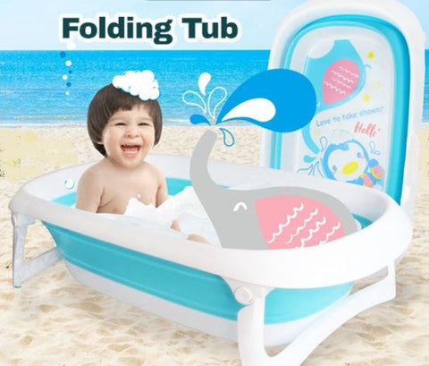 Puku Elephant Folding Bath Tub