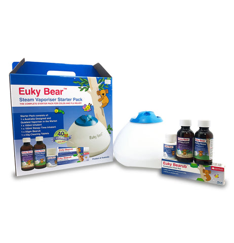 Euky Bear Steam Vaporiser Starter Kit