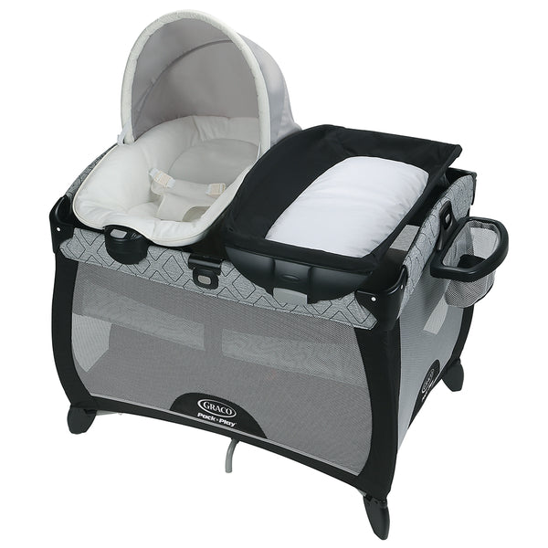 Graco Pack N' Play Quick Connect Portable Napper - Asher