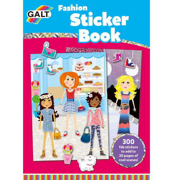 Fashion Sticker Book - Galt