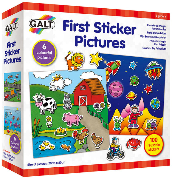 First Sticker Pictures - Galt