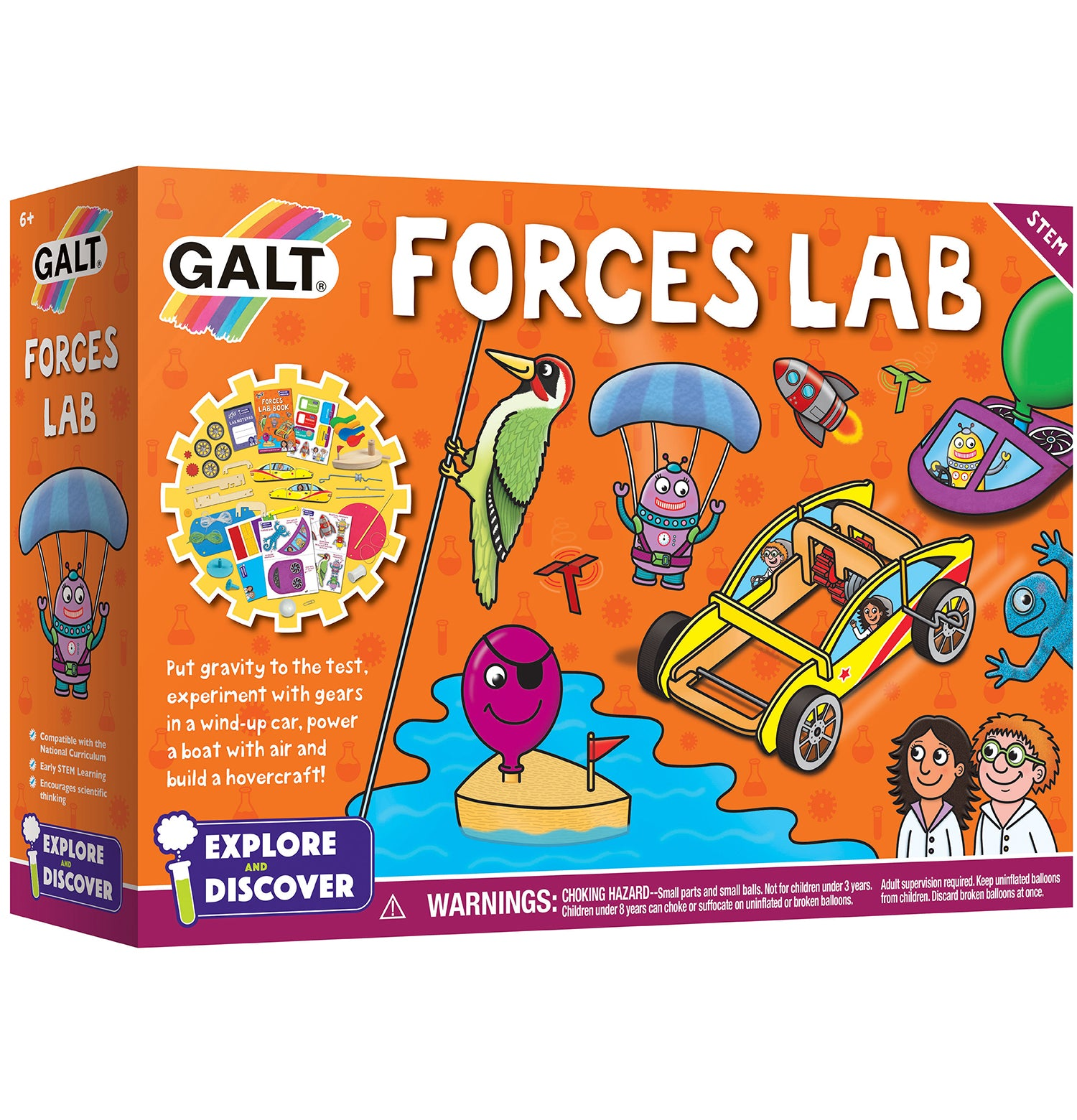 Forces Lab - Galt