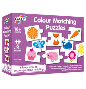 Galt Colour Matching Puzzles