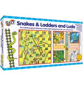 Snakes & Ladders and Ludo - Galt