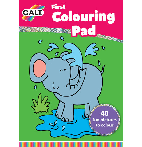 First Colouring Pad - Galt