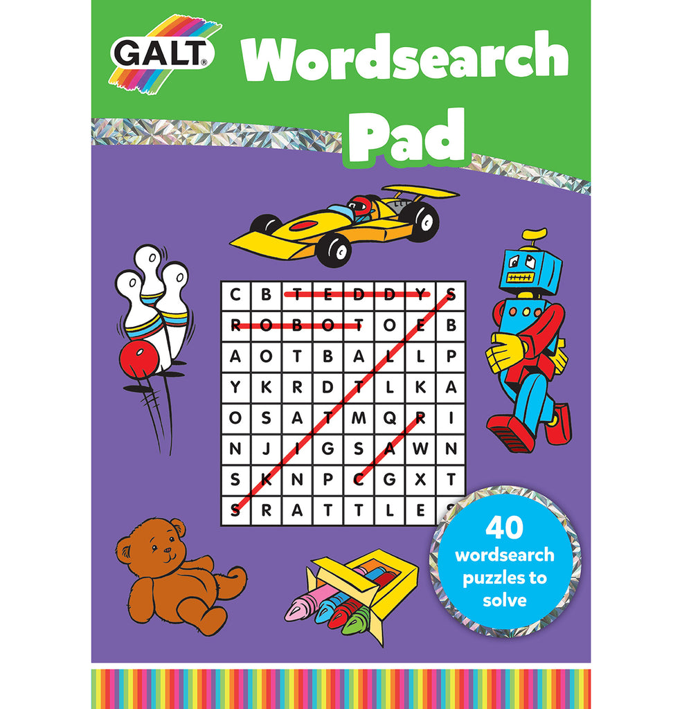 Wordsearch Pad - Galt