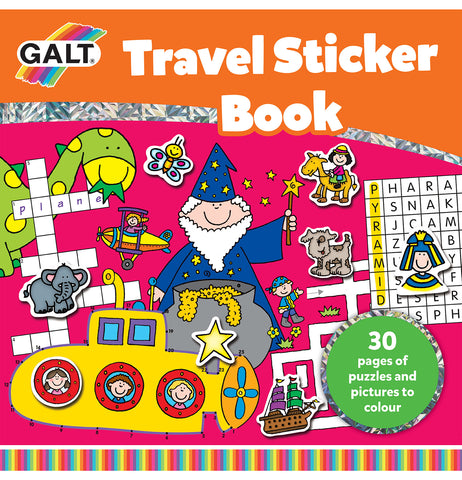 Galt Travel Sticker Book