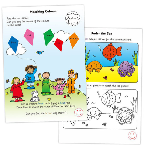Home Learning Books - Early Activities
