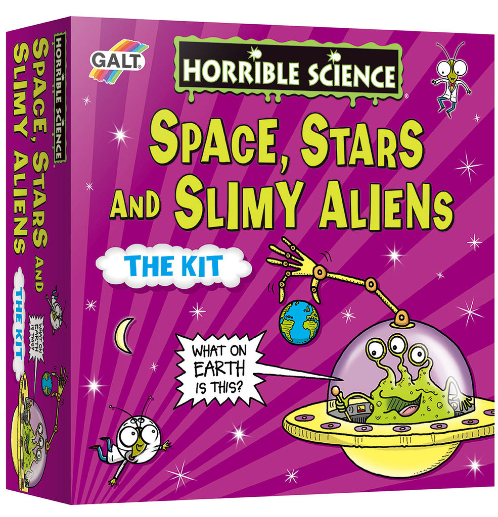 Space, Stars and Slimy Aliens - Galt