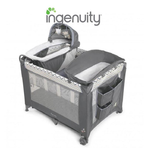Ingenuity Playard Bassinet Cot Smart & Simple Playard - Braden BS11158 - Picket&Rail