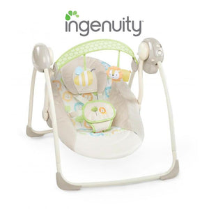Ingenuity Soothe n Delight Portable Swing - Sunny Snuggle BS10248 - Picket&Rail