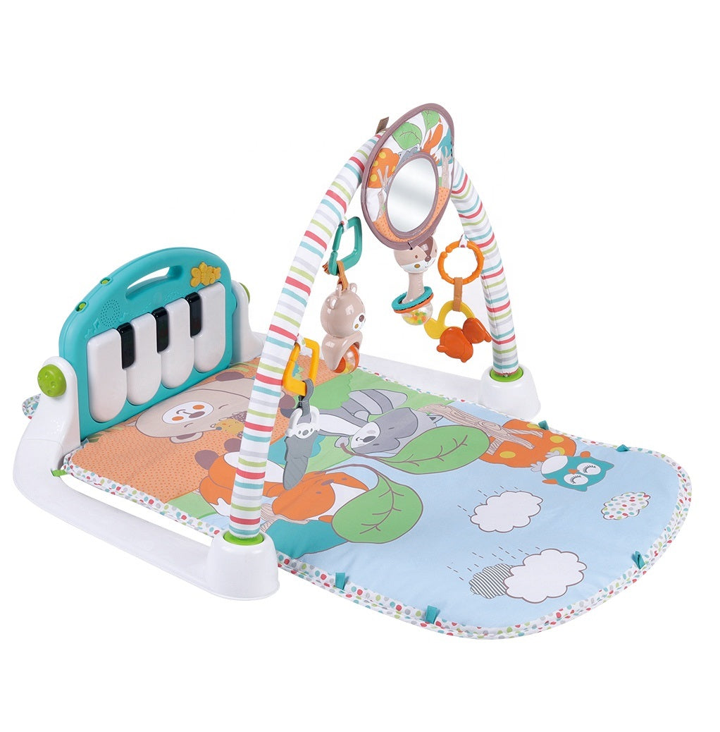 Konig Kids Kick N Play Piano Play Gym With Music (Batteries not included)