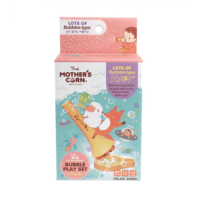 Mother's Corn Lots of Bubbles Set (200ml)