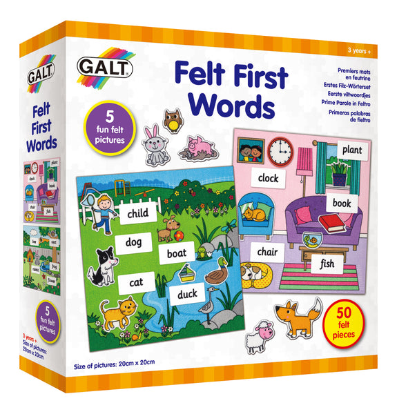 Galt Felt First Words