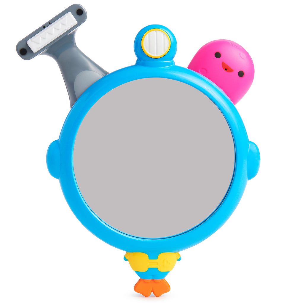 See, Shave & Squirt™ Mirror and Shave Set - Munchkin