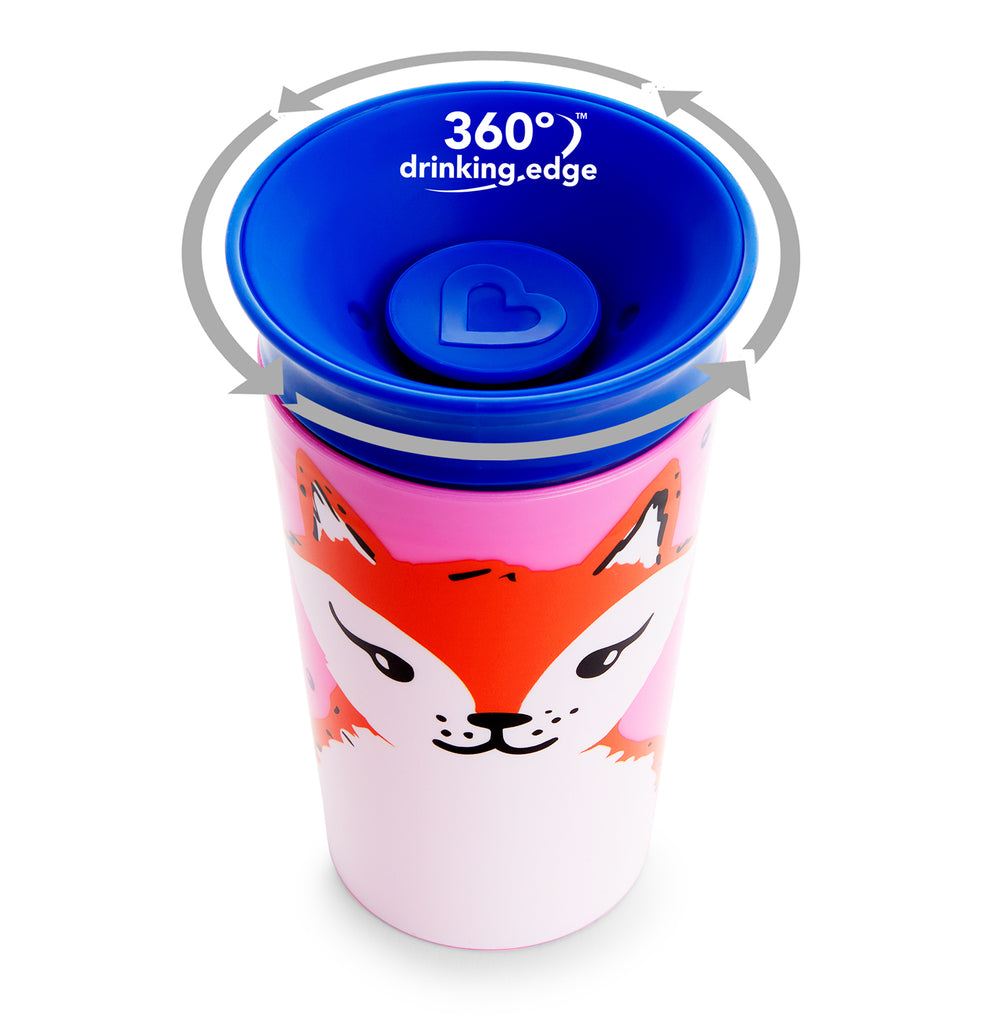 Munchkin Miracle® 360° WildLove Sippy Cup - 9oz