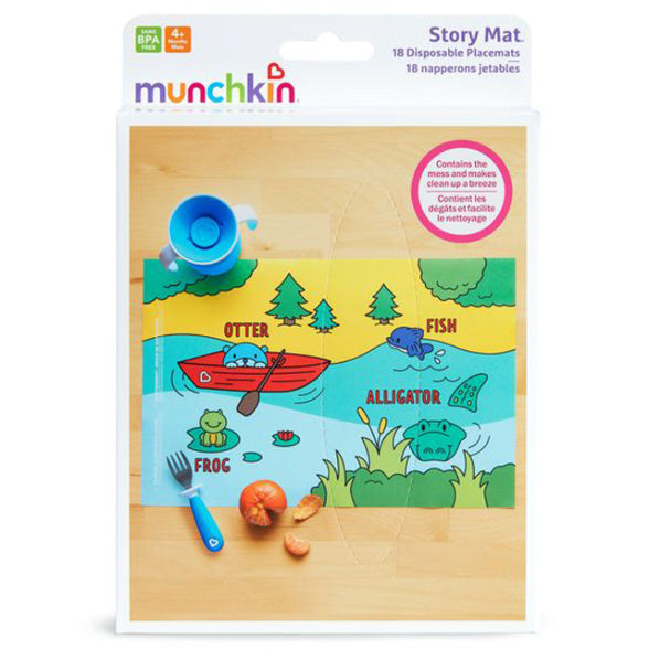 Munchkin Story Mat™ Disposable Placemats - 18 Pack