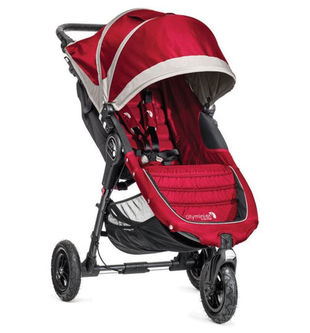 Baby Jogger City Mini GT Single Stroller - Crimson