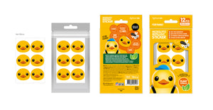 Against24 Rubber Duck Mosquito Repellent Sticker