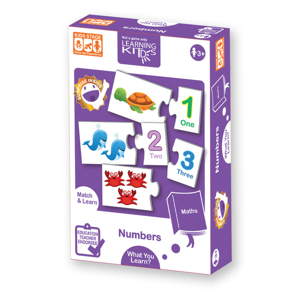 Learning Kitds Number Puzzles
