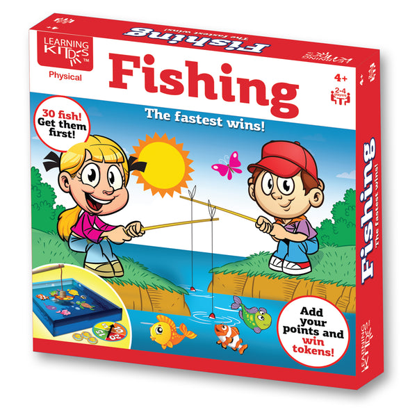 Learning Kitds Fishing