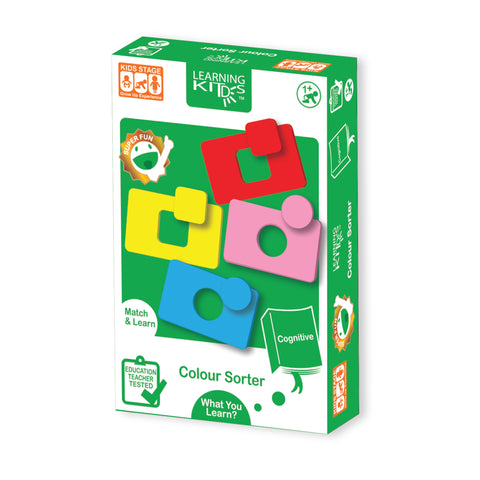 Learning Kitds Colour Sorter Puzzles