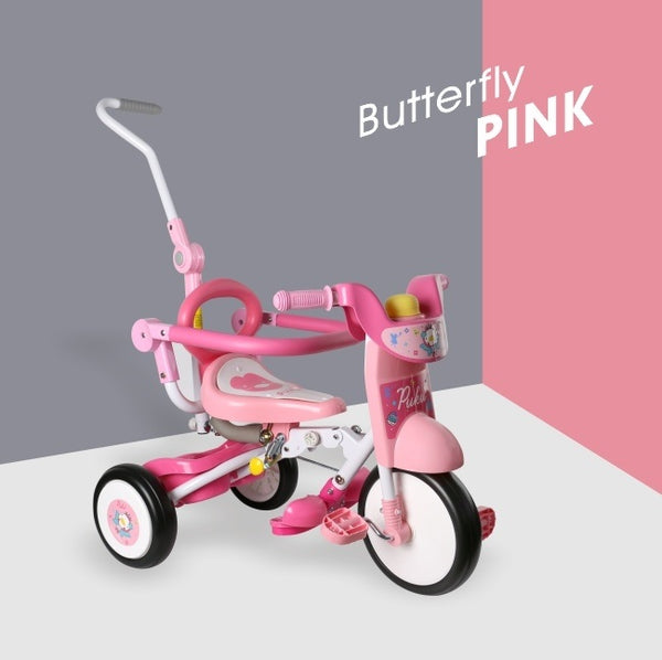 PUKU Mini Foldable Bike (Racing /Sweet Pink)