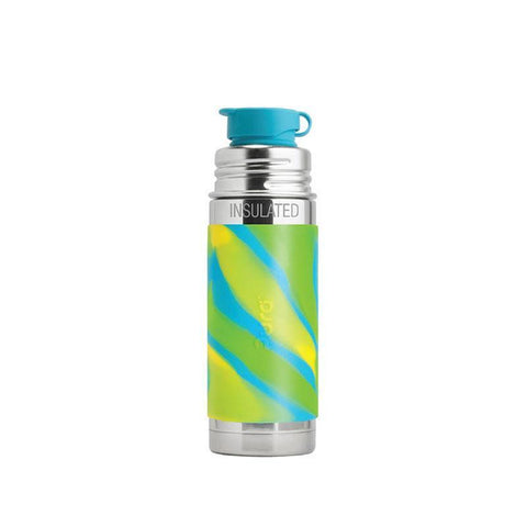 Pura PR250ISP/AS 250ml Insulated Sports Bottle & Sleeve - Aqua Swirl
