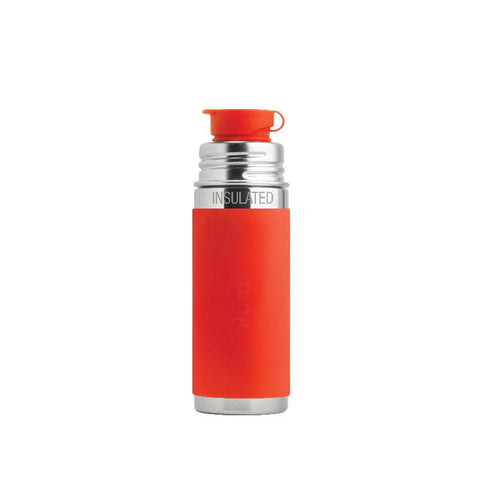Pura PR250ISP/O 250ml Insulated Sports Bottle & Sleeve - Orange
