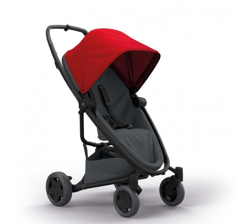 Quinny Zapp Flex Plus - Red on Graphite